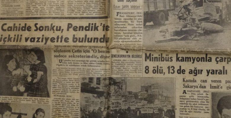 HÜRRİYET GAZETESİ 11 KASIM 1966