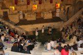 Antik tiyatroda muhteşem konser
