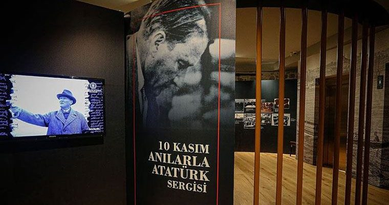 '10 Kasım Anılarla Atatürk Sergisi' açıldı