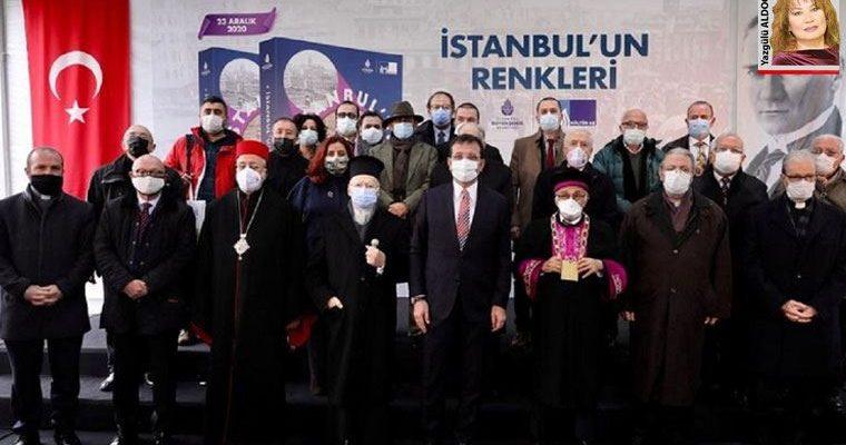 """""""İstanbul'un Renkleri"""" adlı kitabını tanıtımı yapıldı"""
