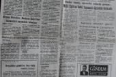 GİRESUN EKSPRES GÜNLÜK SİYASİ TARAFSIZ GAZETE  10 ŞUBAT 1999