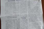 DEMOKRAT GÜMÜŞHANE TARAFSIZ GAZETE 27 KASIM 1980