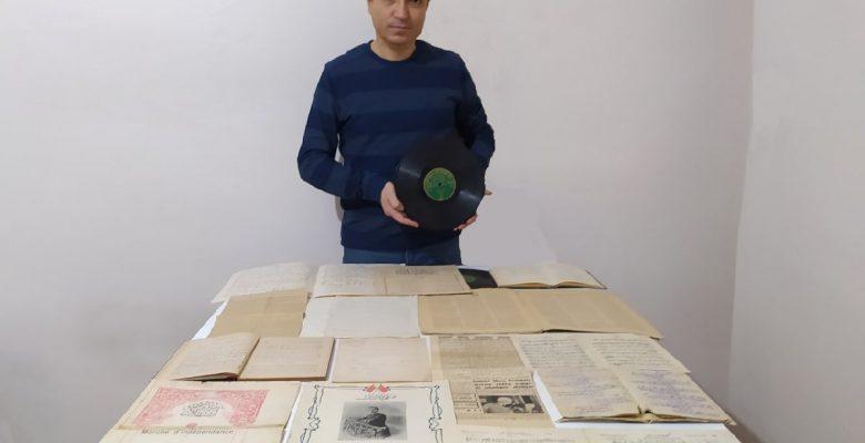 Araştırmacı ve koleksiyoner Kasım Kocabaş,