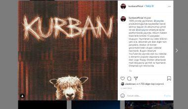 Kurban'ın ilk stüdyo albümü dijital platformlarda dinleyiciyle buluştu