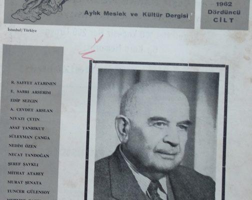 POS-TEL AYLIK MESLEK VE KÜLTÜR DERGİSİ 5 HAZİRAN 1962