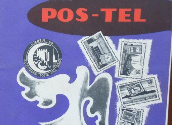 POS-TEL AYLIK MESLEK VE KÜLTÜR DERGİSİ AĞUSTOS EYLÜL 1963