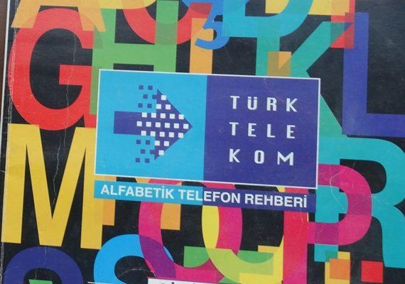 ALFABETİK TELEFON REHBERİ GİRESUN 1996