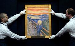 'Çığlık'taki yazı Edvard Munch'a ait çıktı