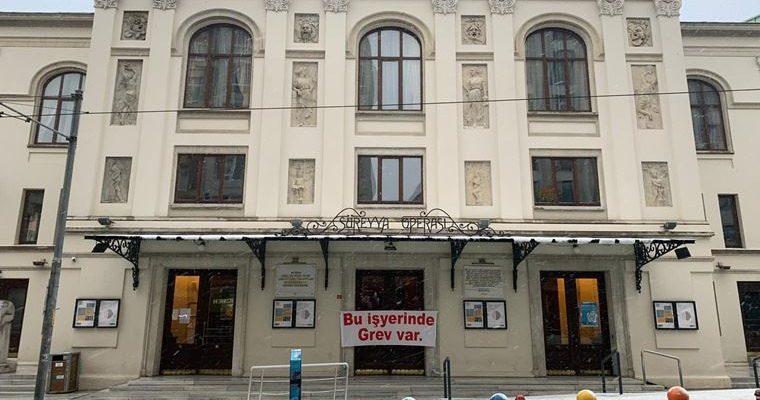 Kadıköy Süreyya Operası çalışanları da grevde