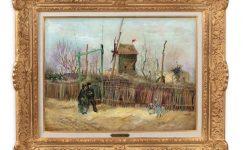 Van Gogh'un 'Scène de rue à Montmartre'si ilk kez açık artırmada: