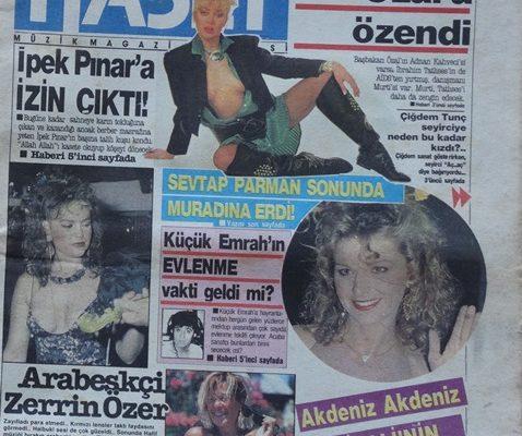 SABAH ALTIN KASET MÜZİK MAGAZIN DERGİSİ 7 EKİM 1987 ÇARŞAMBA