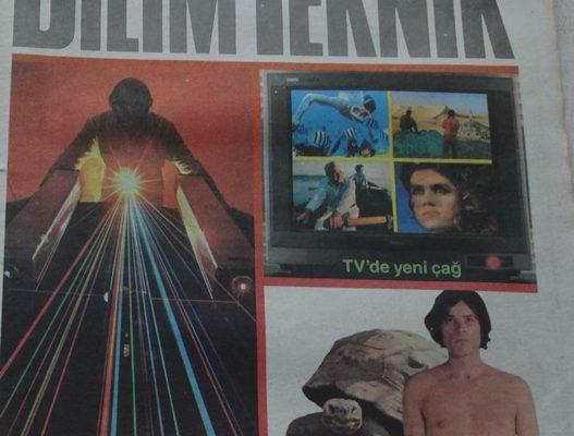 CUMHURİYET GAZETESİ BİLİM TEKNİK 7 MART 1987