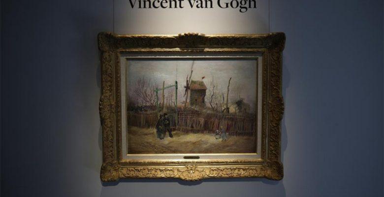 Van Gogh'un 'Montmartre'deki Sokak Manzarası' adlı eseri