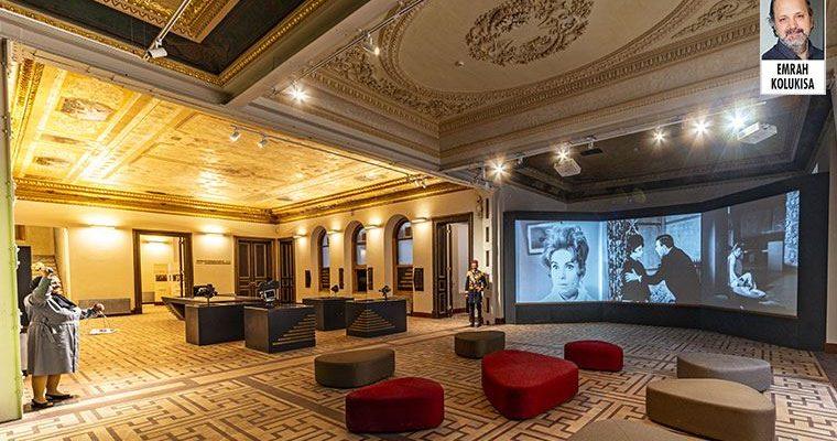 Sinemaları teker teker kapanan Beyoğlu'nda bir sinema müzesi