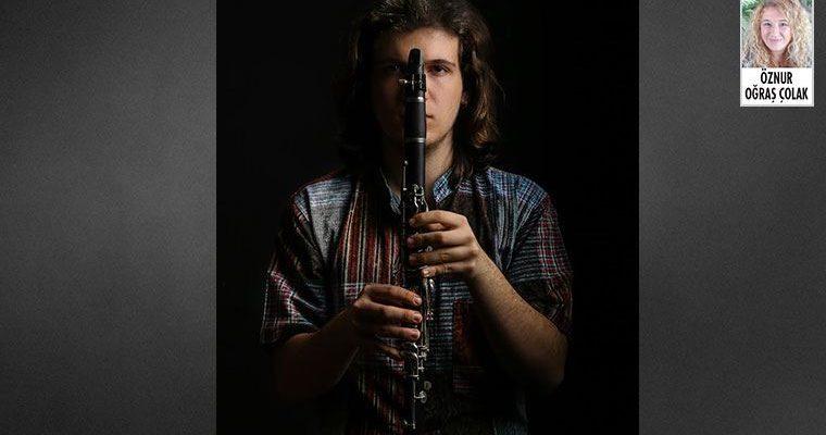 Genç klarnet sanatçısı Onur Çalışkan,