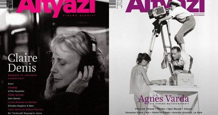 Altyazı Sinema Dergisi kadın sinemacılara odaklanan sayılarını ücretsiz erişime açtı