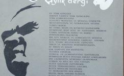 POS-TEL AYLIK DERGİ KASIM 1963