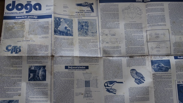 DOĞA HABERLERİ NİSAN 1985
