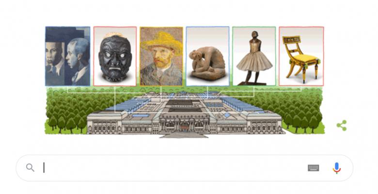 Google'dan Metropolitan Sanat Müzesi'nin 151. yılına kutlama