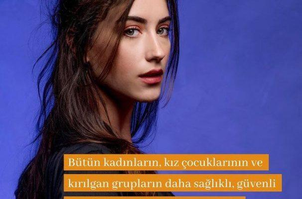 Hazal Kaya, UNFPA Türkiye'nin iyi niyet elçisi oldu