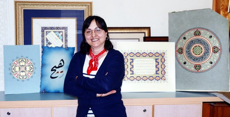 Osmanlı'nın yadigarı tezhip sanatını 15 yıldır öğretiyor