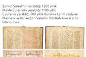 İBB, İngiltere'deki müzayededen Kur'an-ı Kerim ve el yazmaları aldı