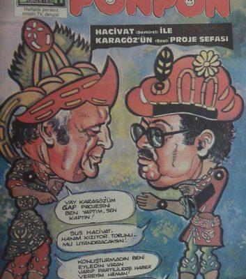 PONPON HAFTALIK MİZAH DERGİSİ 10.MAYIS 1996