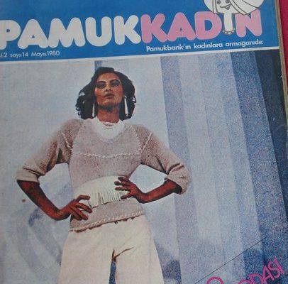PAMUK KADIN DERGİSİ MAYIS 1980