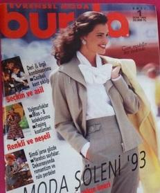 EVRENSEL MODA BURDA SAYI:1 OCAK 1993
