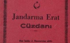 JANDARMA ERAT CÜZDANI 1955