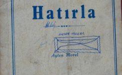 HATIRLA AYTEN MOREL ŞİİRLER 1977