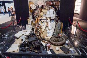 Çek sanatçının 'Anamorfoz Atatürk' projesi yoğun ilgi gördü