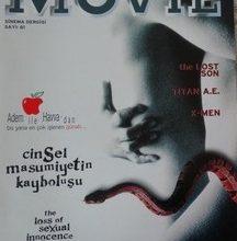 MOVİE AYLIK SİNEMA DERGİSİ MAYIS-HAZİRAN 2000