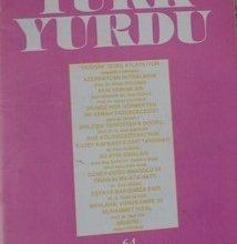 TÜRK YURDU ARALIK 1992