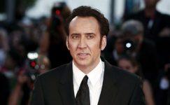 Entertainment Weekly'e konuşan Nicholas Cage,