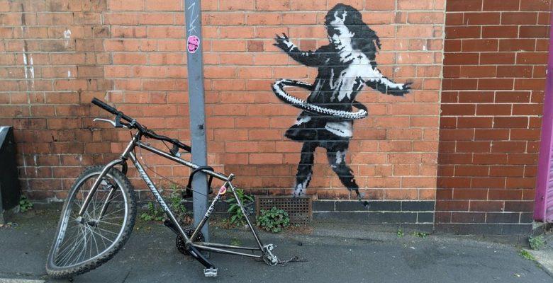 Banksy'nin yeni eseri Nottingham'da: