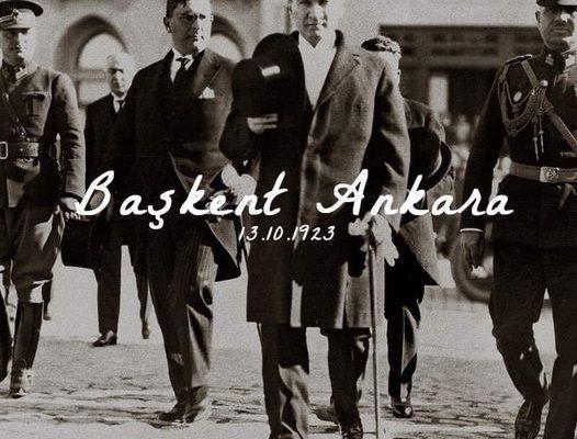 13 EKİM 1923