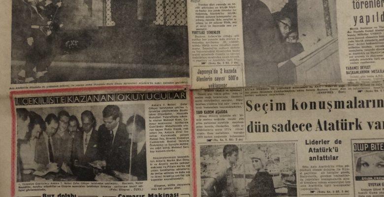 EKSPRES GAZETESİ 11 KASIM 1963