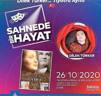 Mustafa Kemal'le Bin Gün-Latife Harbiye'de