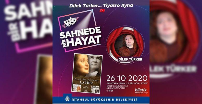 Duayen tiyatrocu Dilek Türker: