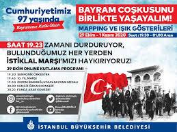 29 Ekim Cumhuriyet Bayramımız kutlu olsun.