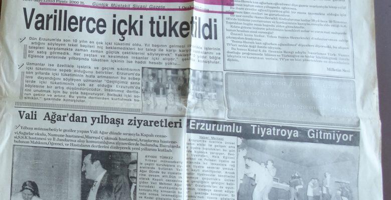 MİLLETİN SESİ 1 OCAK 1993
