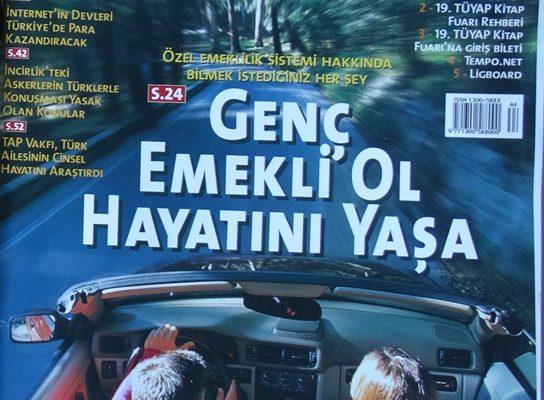 """TEMPO 2-8 KASIM 2000 TÜRKİYE""""NİN T Sİ"""