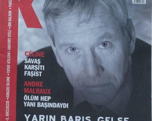 K HAFTALIK SANAT DERGİSİ 25 OCAK 2008