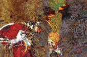 """Ressam Ekrem Kadak'ın """"Süpür II"""""""