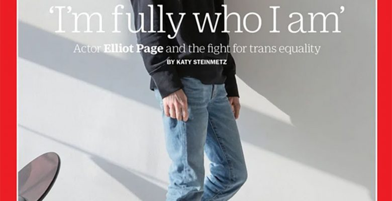 Elliot Page Time dergisinin kapağında: