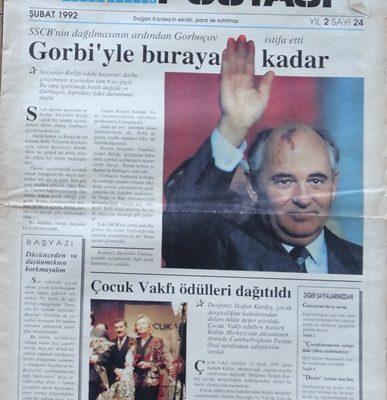 DOĞAN KARDEŞ POSTASI ŞUBAT 1992