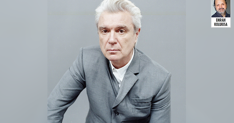 """David Byrne, """"Müziğin gücü evrenselliğinde"""""""
