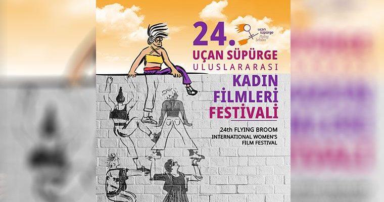 Uçan Süpürge Uluslararası Kadın Filmleri Festivali'nin afişi yayımlandı