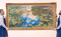 Monet'in nilüferleri 40 milyon dolara satışa sunulacak